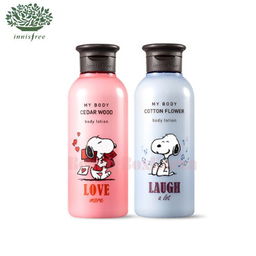 INNISFREE My Body Body Lotion 300ml [INNISFREE X SNOOPY]